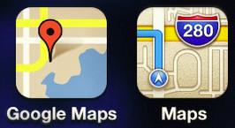 google ios 6 maps