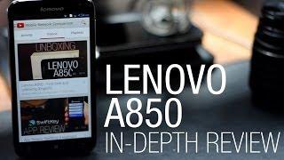 Lenovo A850 - In-depth review