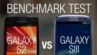 Samsung Galaxy SIII vs S2 - Full Antutu Benchmark Test