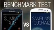 SlimKat 3.0.64 vs Samsung Touchwiz - Full Antutu Benchmark Test 2014 (Galaxy SIII)