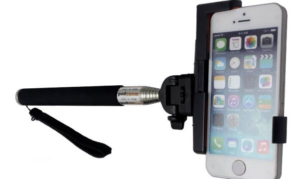 PINPO Extendable Waterproof Selfie Monopod
