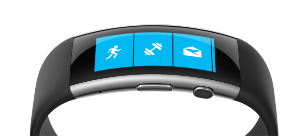 The Microsoft Band tracks your heart rate, exercise, calorie burn and sleep quality, and keeps you connected with email, text, and calendar alerts
